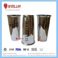 Glass printing coca cola drinking cup