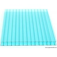 China Green Twin Wall Polycarbonate Sheet for Greenhouse on sale