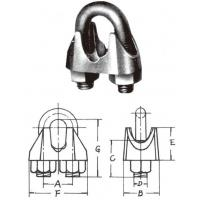 JIS(KINTO)GREY IRON CAST WIRE ROPE CLIPS JIS(KINTO)GREY IRON CAST WIRE ROPE CLIPS
