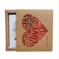 China CD Packing Boxes Cardboard Drawer on sale