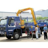Quality 4x4 5T Truck Mounted Crane Knuckle Boom for sale