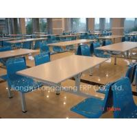 Quality FRP dining table and chair for sale