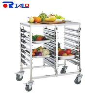 Service Trolley & Carts Dual Row GN Trolley with Work Table