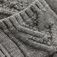 Quality High quality cable fleece blend sweater cadigan fashion sweater design for kids for sale