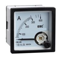 Quality moving iron and moving coil AC panel meter, for sale