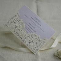 Quality Pocket wedding invitation cards Item ID #IC1601-15 for sale