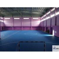 Quality Professional futsal court flooring SPU rubber self leveling material for sale