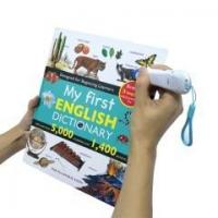 China The Best English Picture Children Dictionary and Reading Pen with Blue Children's English Dictionary on sale