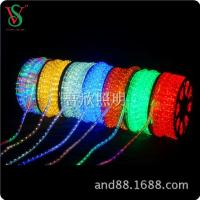China led rope light led 2wire 10mm rope light for outdoor on sale