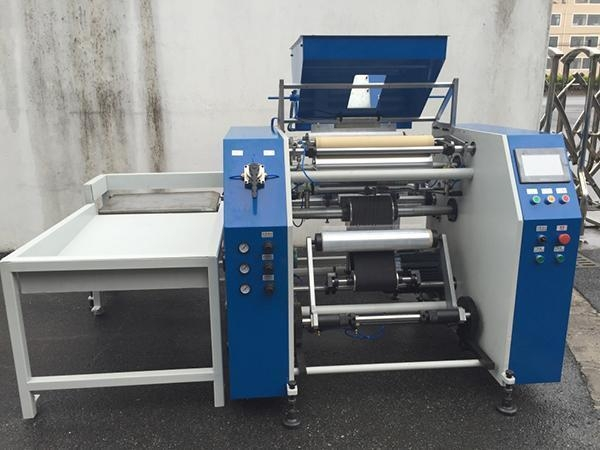 Buy Fully Automatic Stretch Film Rewinding Machine at wholesale prices
