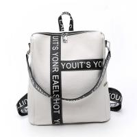 Quality Fast Fashion White Backpack for sale