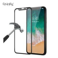 CTUNES 0.33mm 3D 9H Hardness Anti-Scratch Tempered Glass Protective Film For Apple iPhone X 5.8