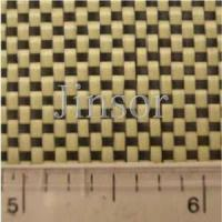 Quality JINSOR Carbon Kevlar hybrid fabrics detail specifications for sale