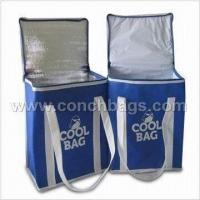 Quality CN199008121733 Cooler Bags, Made of 600/420/300D Polyester with Aluminum Foil Pearl Lining for sale