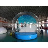 Quality Inflatable Snow Globe Advertising Dome Tent for sale