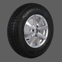 TrailerWheelandTire TR-3