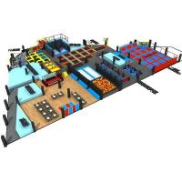 China Exercise Adult Trampoline Park Manufacturers Kids Trampoline with Safety Net Hot Sale on sale