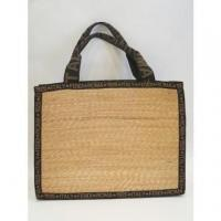 Quality Authentic Vintage FENDI Straw Tote BAG for sale