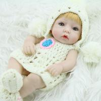 China Doll Sort 10 Inch Mini Baby Reborn Girl Doll Full Body Silicone Mini Alive Dolls Sweet Dreams on sale