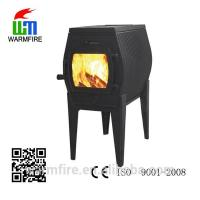 Quality 2015 popular small cast iron wood burning stove for sale for sale