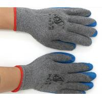 Latex coated gloves 10gauge cotton yarn working gloves coated by latex GL27