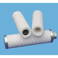 PP/Absorbent cotton fibre yarn wound around the core support cartridge filter(SP/SE/SG)