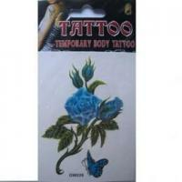 Colorful Tattoo Sticker TC006