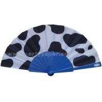 Unique Design Printed Fabric Hand Fan For Promotion , Gift , Souvenirs Variety Colors