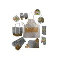 Kitchen Textile Set (Textile with Silver Coated Surface for Thermal Insulation)