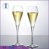 Buy cheap China Factory wholesale Antique Style Machine Made Big Crystal Champagne Glass from wholesalers