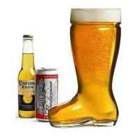 Buy cheap High Quality Fancy Bar boot shaped beer glass from wholesalers