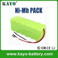 China Rc Car Battery Nimh Rechargeable Battery Packs 9.6v AA 1800mAh on sale