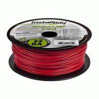 Amp Kits Bulk Wire RCA Cables Primary Wire 22 Gauge Red Coil of 500 feet