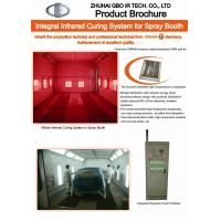 Quality Infrared paint booth heaters for sale