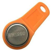China RW1990 Key for Clone iButtons' 64-bit Serial Number with Orange Fob on sale