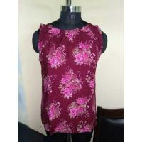 Quality Printed Pink Top for sale