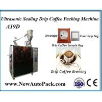 Buy cheap Australia drip bag coffee packing machine with outer envelope from wholesalers