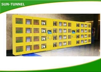 Buy Subway Iced Coffee Kiosk Fresh Food Vending Machine With Refrigerated System at wholesale prices
