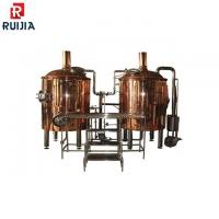 China Industrial Beer Brewing Equipment 300L Red Copper Beer Making Kit on sale