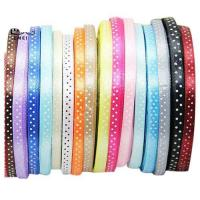 China Polka Dot Satin Ribbon Polka Dot Satin Ribbon on sale