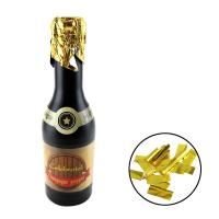 Quality Gold Metallic Foil Champagne Popper for sale