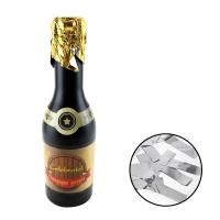 Quality Silver Metallic Foil Champagne Popper for sale