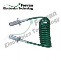 Quality Custom TPU Coated Electrical Coiled Wire Cable Assembly for sale