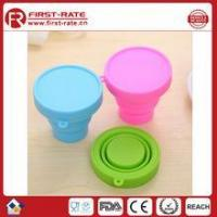 Buy cheap FDA 200ML silicone folding cup from wholesalers
