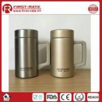 Buy cheap 450ML Double wall Stainless steel vacuum thermal flask with handle from wholesalers