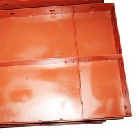 Quality Construction Concrete Steel Shutter Plate Painted B Type with Plate Thickness 1.2mm for sale