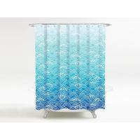 Buy cheap BATHROOM Shower curtain ocean wave from wholesalers