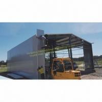 Buy cheap Metal Storage Sheds and Galvanized Steel Framed Sheds Building Construction from wholesalers