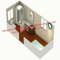 Buy cheap Foldable Flat Pack Container House with Glass Facade Decoration For Office Use from wholesalers