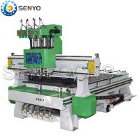 Buy cheap Pneumatic Tool Changer 4 heads cnc router from wholesalers